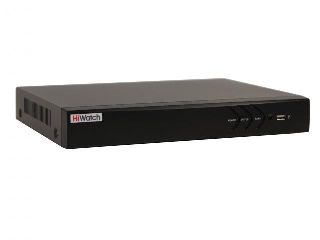 16-канальный гибридный HD-TVI видеорегистратор c технологией AcuSense и AoC (аудио по коаксиальному кабелю)