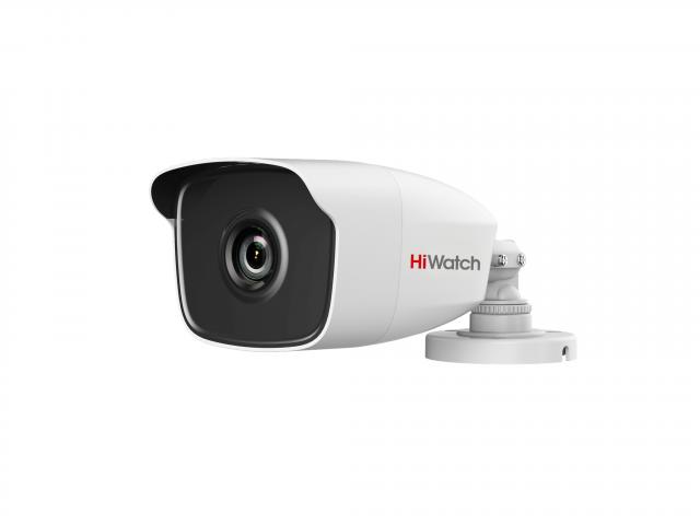 2 Мп цилиндрическая HD-TVI видеокамера с EXIR-подсветкой до 40 м