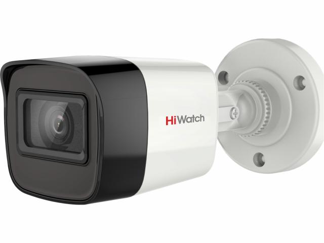 5Мп цилиндрическая HD-TVI-видеокамера с EXIR-подсветкой до 40м