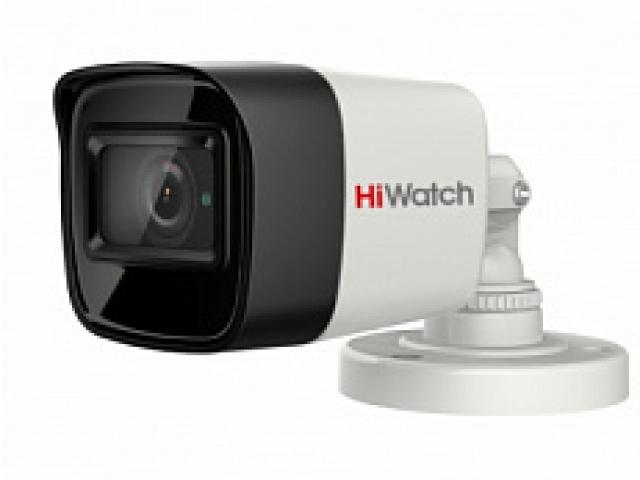 8 Мп цилиндрическая HD-TVI камера с EXIR-подсветкой до 30м