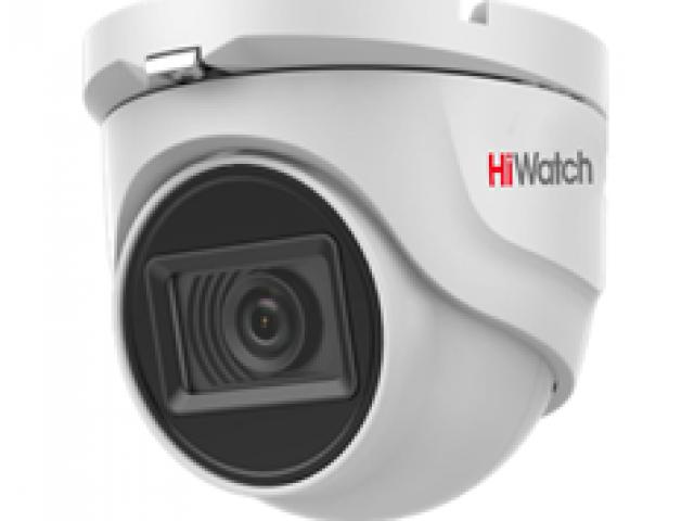 8 Мп купольная HD-TVI камера с EXIR-подсветкой до 30м